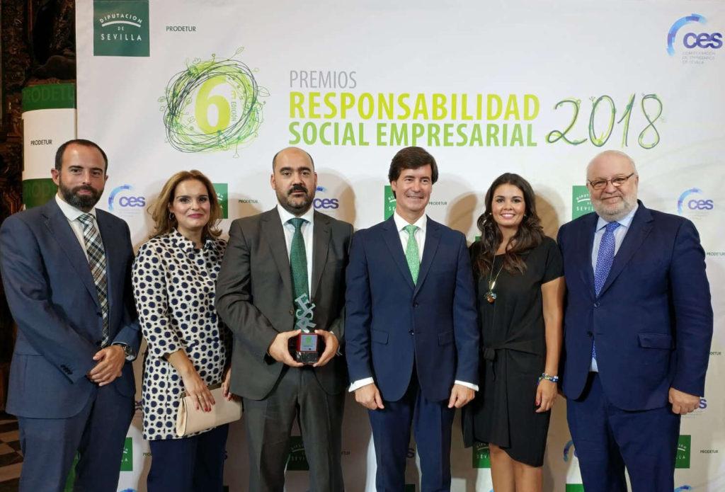 Equipo qosITconsulting en Premios RSE