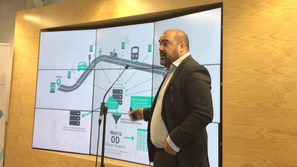 Juan Carlos Rubio Director qosITconsulting presentando Motus