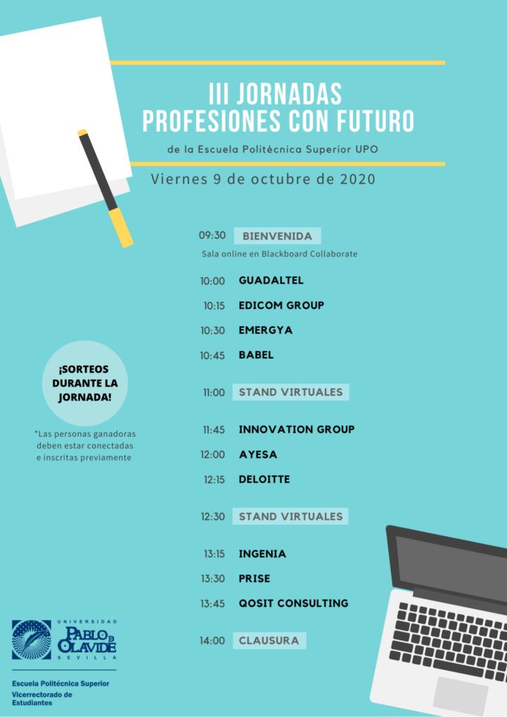 Cartel III Jornadas Profesiones Futuro EPS