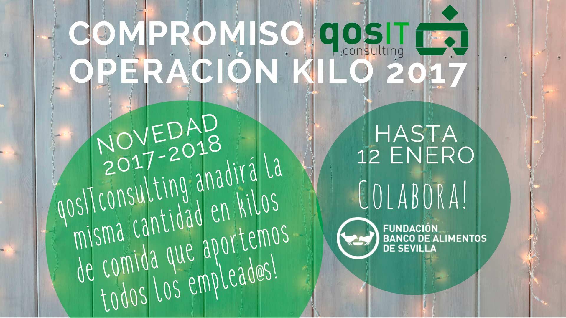 Compromiso qosITconsulting Operación Kilo 2017
