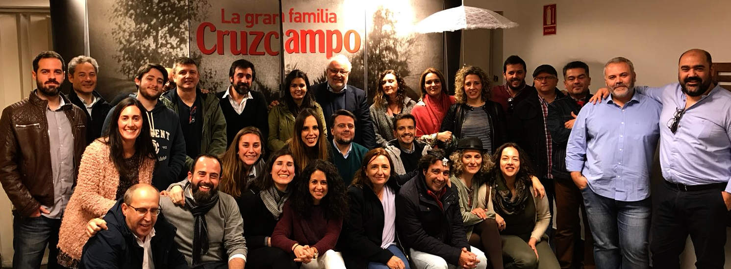 Equipo qosITconsulting visita HEINEKEN Sevilla