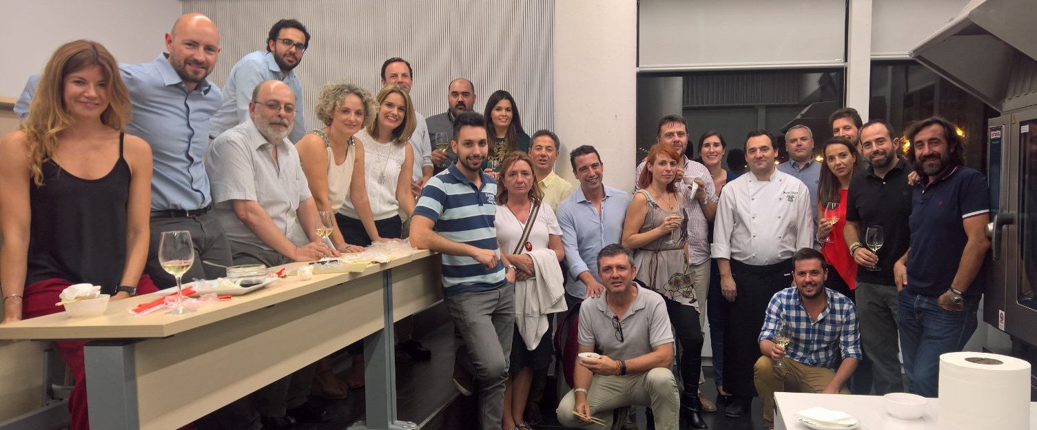 El equipo de qosITconsulting en la Escuela Superior de Hostelería de Sevilla
