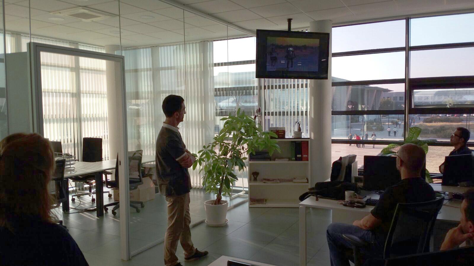 Manuel Soto visita qosITconsulting