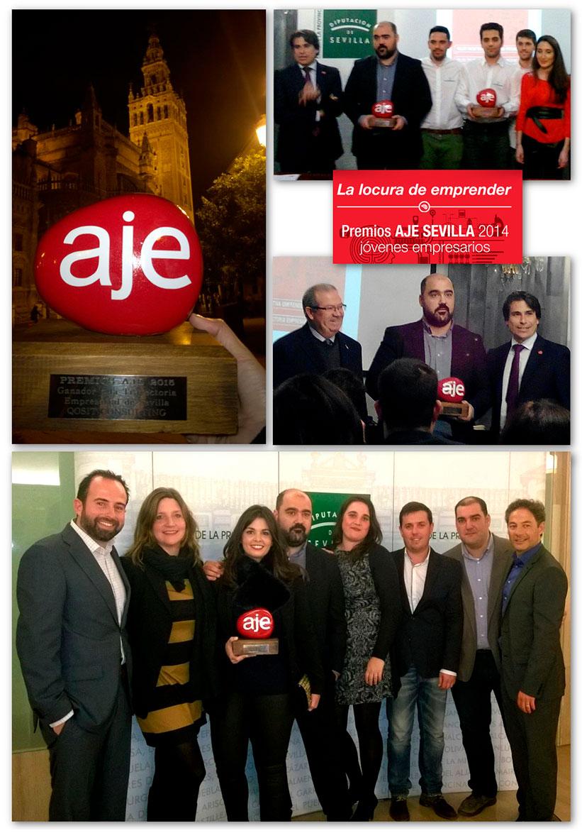 AJE Awards Seville - qosITconsulting