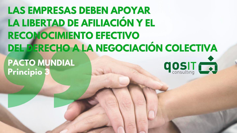 Principio 3 Pacto Mundial - qosITconsulting