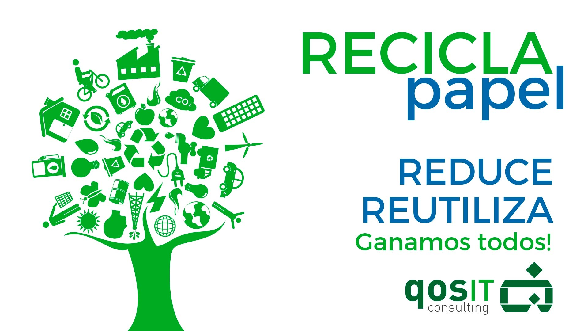 Recicla papel - qosITconsulting