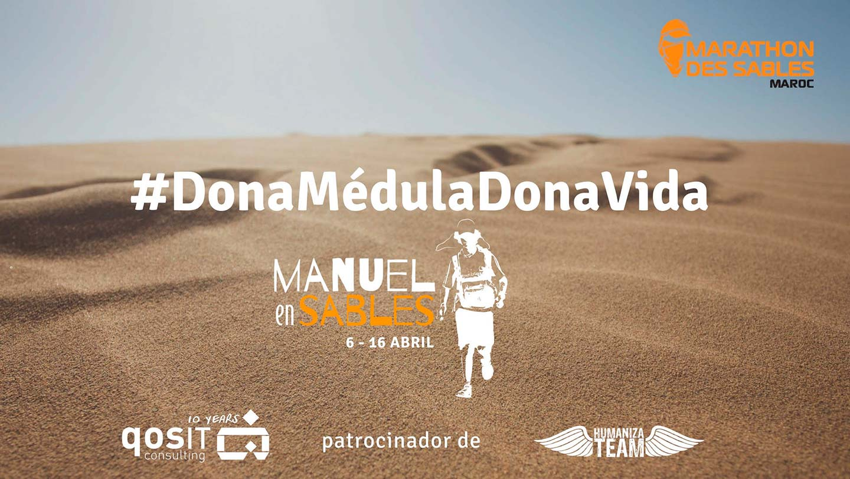 qosITconsulting DonaMedulaDonaVida Manuel en Sables 2018
