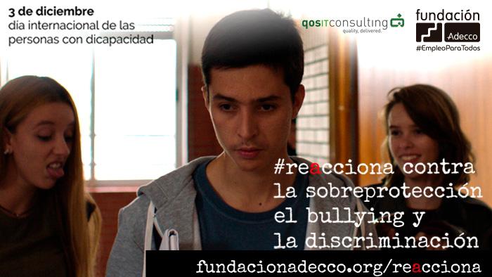 qosITconsulting apoya campaña #reacciona de la Fundación Adecco