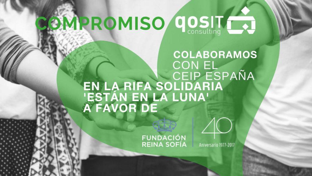 qosITconsulting colabora en rifa solidaria a favor de Proyecto Alzheimer Fundación Reina Sofía